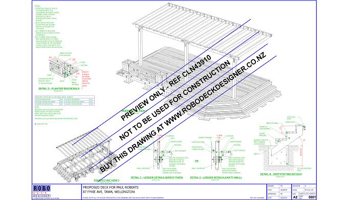 ROBO Deck Designer is an online website for creating deck drawings to NZ regulatations in minutes. U...