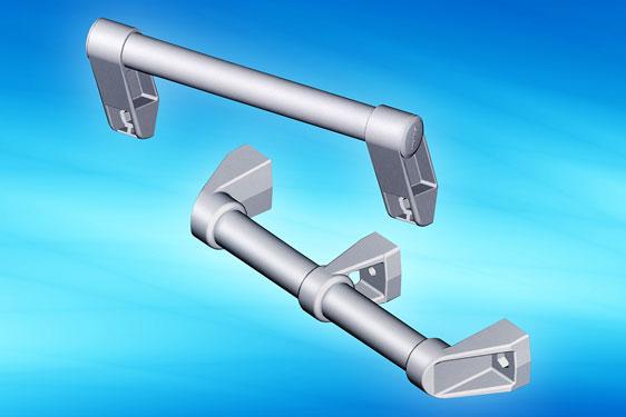 1095 grab rail handle system