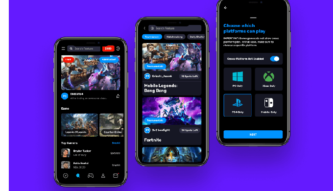 This is an Esports Gaming mobile app platform where gamers can play console games like Call Of Duty,...