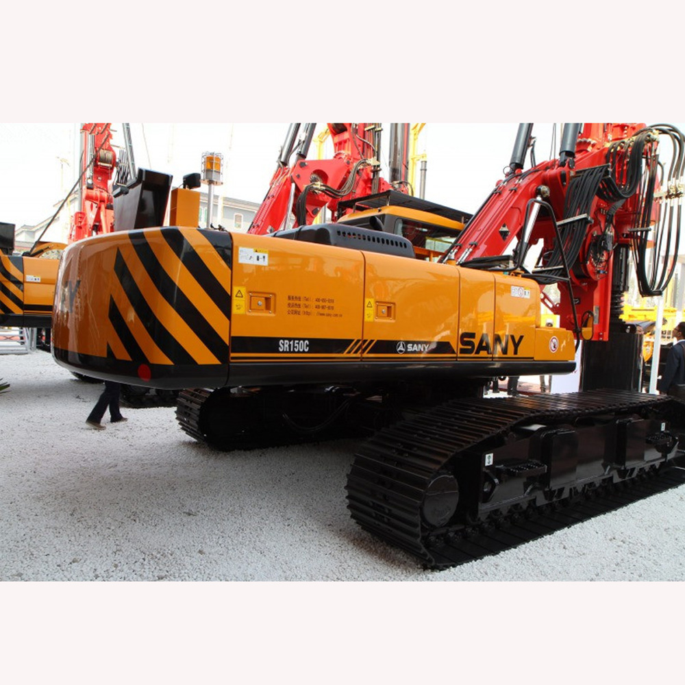 Classic model: Powerful machine for civil engineering: Mainly used for pile foundation of medium and...