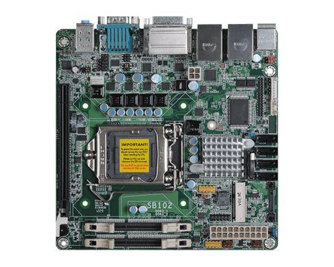 SB102-D | 3rd/2nd Gen Intel Core | Mini-ITX | DFI