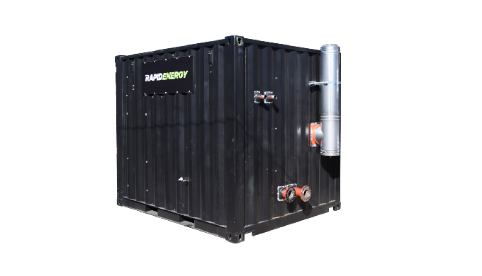 A reliable and economical heating system housed in a secure, robust 10ft container. Equipped with Gr...