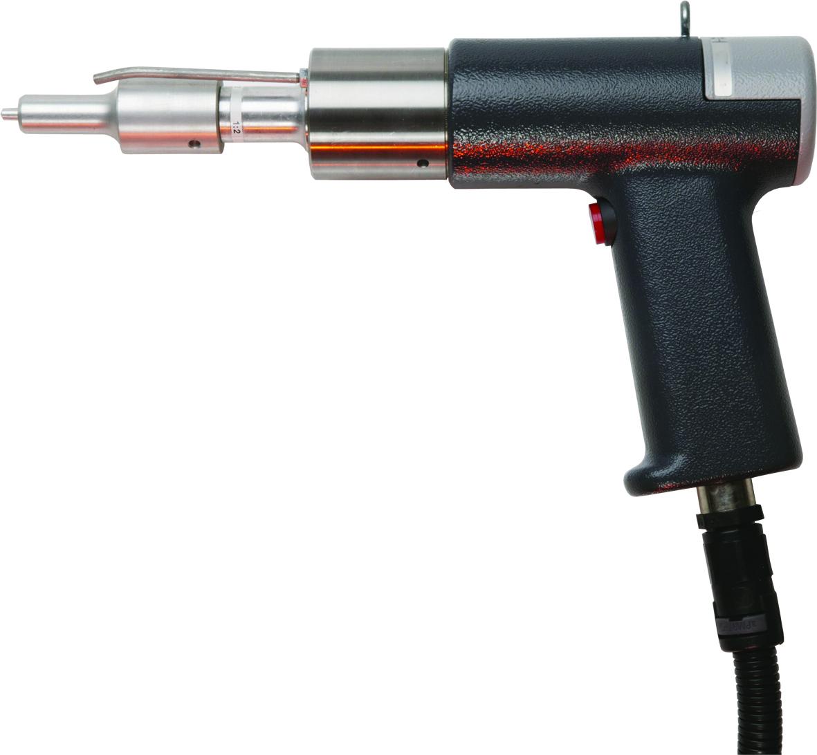 Die Ultraschall-Handschweisspistole HG35 eignet sich für manuelle Schweissoperationen zum Beispiel z...