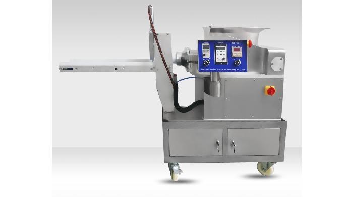 HANJUE HJ-001D automatic energy bar making machine is changed based on the desktop encrusting machin...