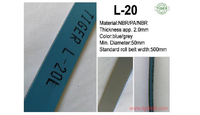 Tiger folder gluer machine or boxmaking machine belt