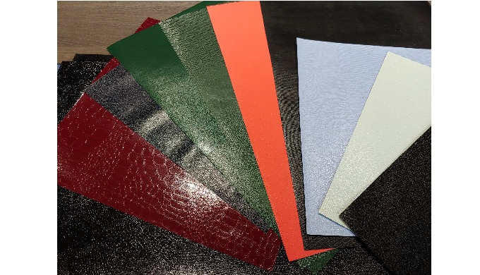 eco-friendly synthetic leather for stationery / DH co.
