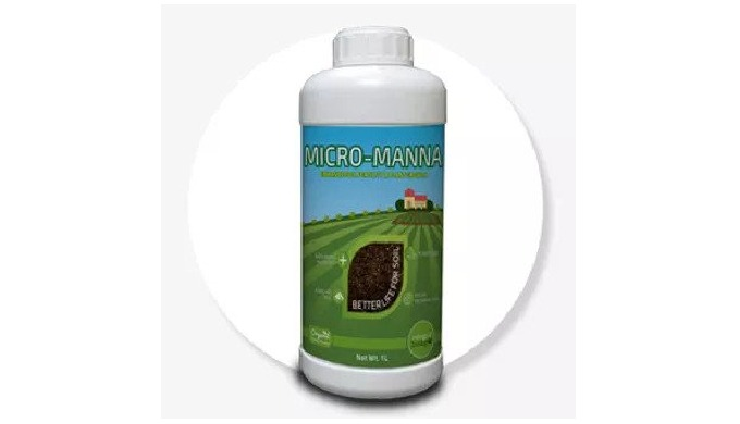 PRODUCT OVERVIEW MICRO-MANNA is a Diluent to activate MICROM, to enhance the performance of the Biof...