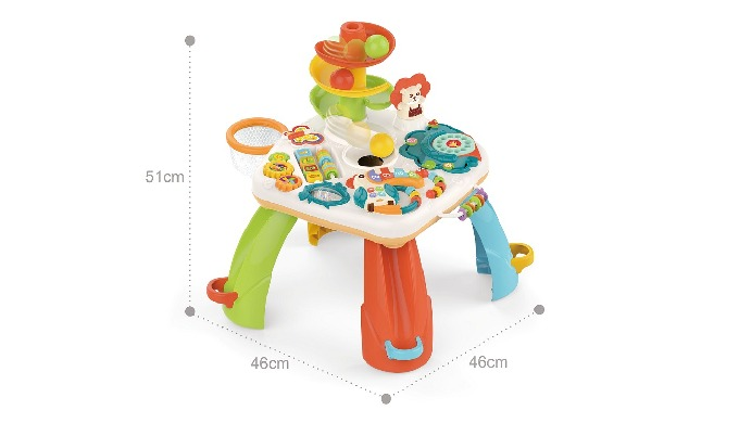 Baby Educational Game Activity Table for 18 Months Up MOQ: 5 cartons 6pcs/ctn