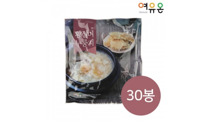 Hwangsilmi Nurunggi (White Rice) | Health food