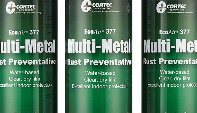 Cortec VPCI 377 ® is a non-hazardous, water-based rust preventative for temporary corrosion preventi...