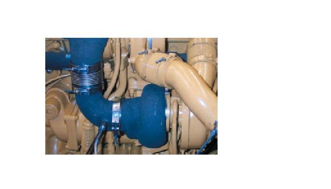 AnvändningsområdenFör kompensation av värmeutvidgning i avgas- och grenrörsområdetFöre eller efter t...