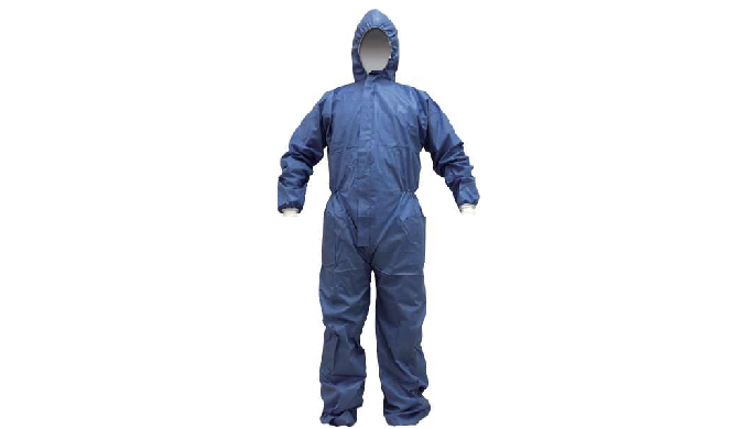 Mist-Tight protective coverall