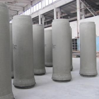 Линия по производству бетонных труб, которая не имеет аналога в республике, выпускает трубы в большо...