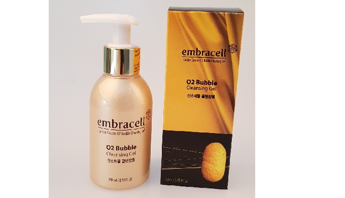 Golden Cocoon O2 Bubble Cleansing Gel | Natural skin cleansing foams