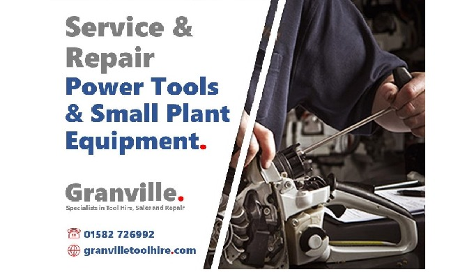 At Granville we're able to service and repair an extensive range of power tools and small plant mach...