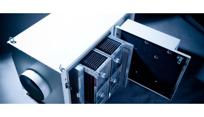 Die elektrostatischen Luftreiniger ELBARON® verfügen über eine unvergleichbar grosse Abscheidekapazi...