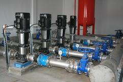Installation de pompe hydraulique