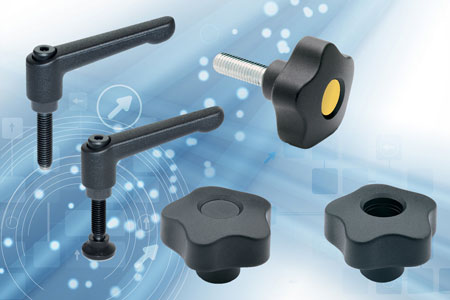 The GN 306 adjustable handles and VCT lobe knob ranges of complementary standard components from Ele...