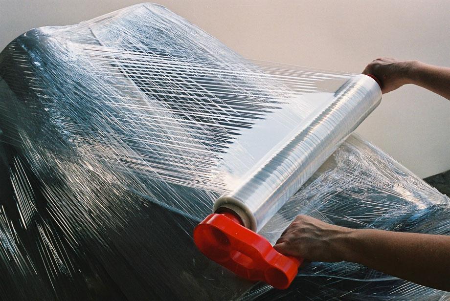 Стретч пленка, стрейч для упаковки грузов вручную  тол.17,20мкм