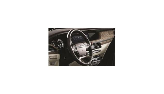 Steering wheel_Model for Hyundai G90