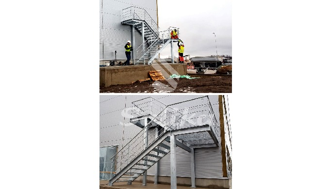 We manufacture different types of stairs including fire escape stairs. Also we manufacture different...