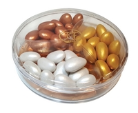 Tafe Pearl Colored Chocolate Coated Almond Dragees 225g