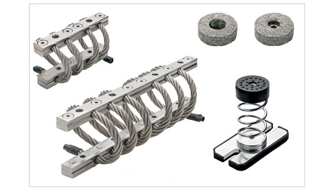 The Elesa ranges of stainless steel damping elements offer different designs for different jobs – AV...