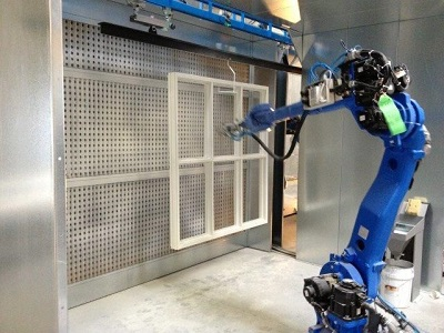 Fuldautomatisk lakanlæg med 3D scanner og malerobot