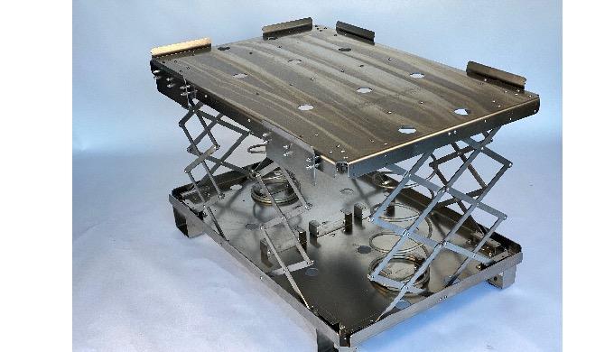 Système ergonomique pour palettes , table élévatrice en 304L L'Ergopal vous permet de toujours trava...
