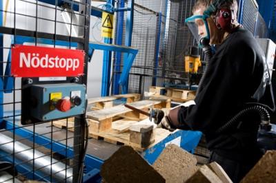 Reparation av lastpallar
