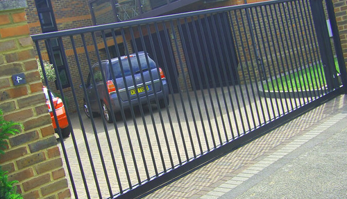 Metal Fence Installation