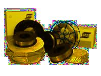 Svařovací elektrody plněné kovovým práškem