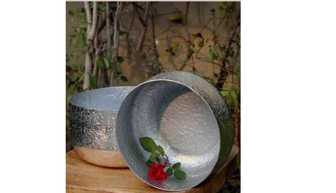 Iron Sheet Garden Bucket
