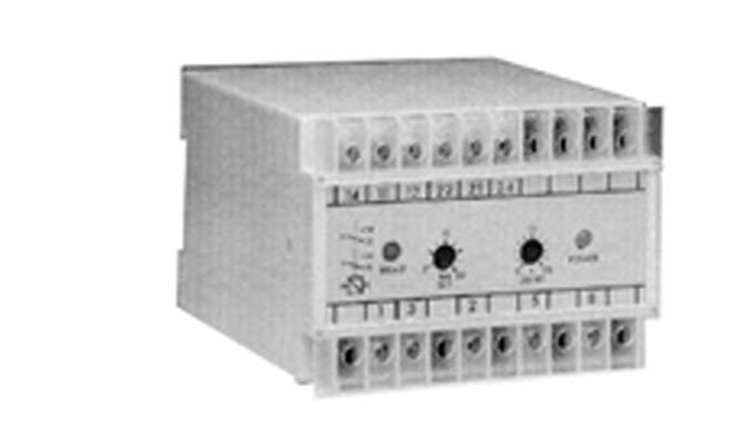 DIN rail mounting protection relays for use in single and three phase systems. Available in 55mm x 1...