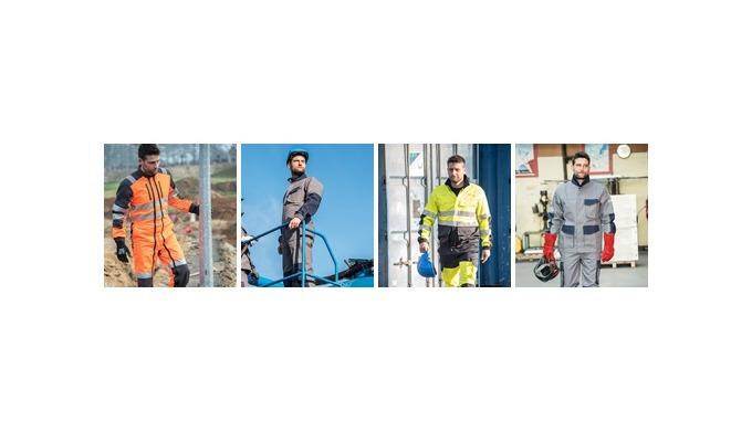 Vêtements multinormes ISO 20471 Haute visibilité EN 510 risques de happement EN 1149-5 électrostatis...