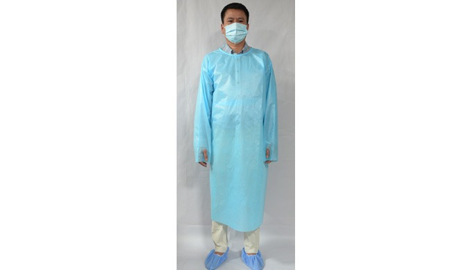 Isolation Gown PP+PE
