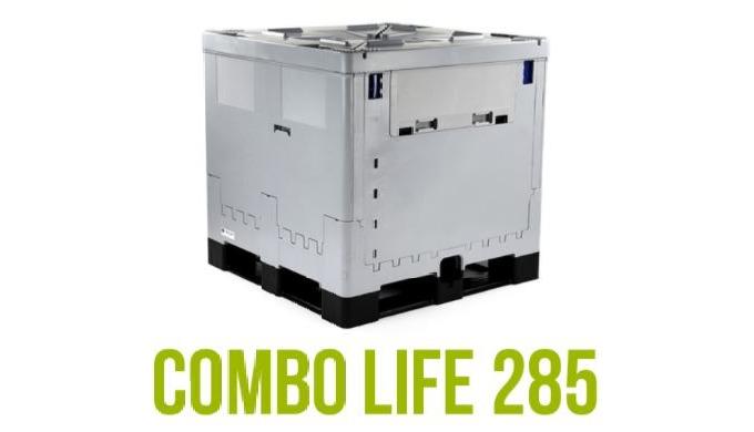 I nostri IBC abbattibili sono perfetti per il trasporto di liquidi non pericolosi in tutto il mondo;...