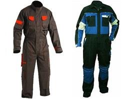 Pracovní oděvy zateplené, klasické, speciální, nepromokavé, výstražné, jednorázové a profesní. Praco...