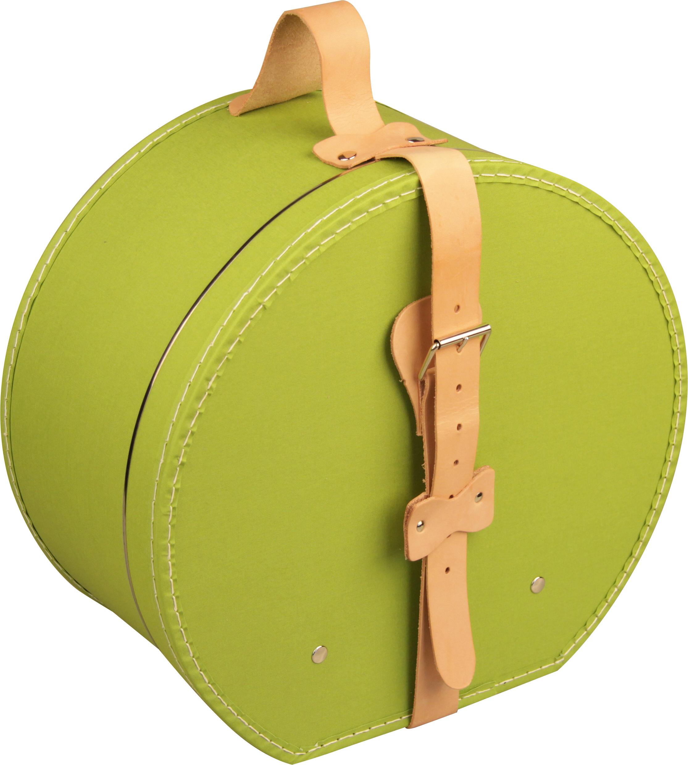 Klobouková krabice zelená