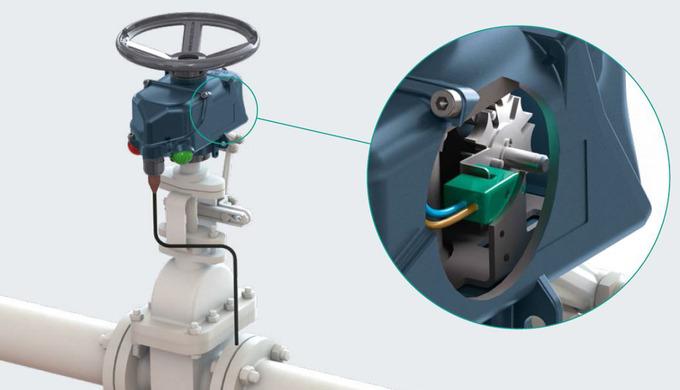 Sofis nutzt Sensoren von Pepperl+Fuchs zur präzisen Positionserkennung von Handventilen