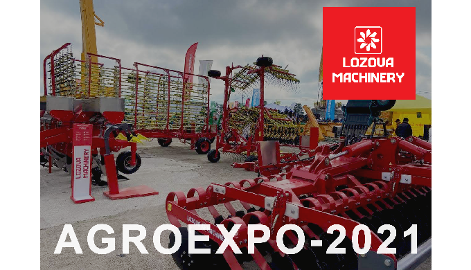 Итоги участия в AgroExpo-2021: лучшие решения LOZOVA MACHINERY