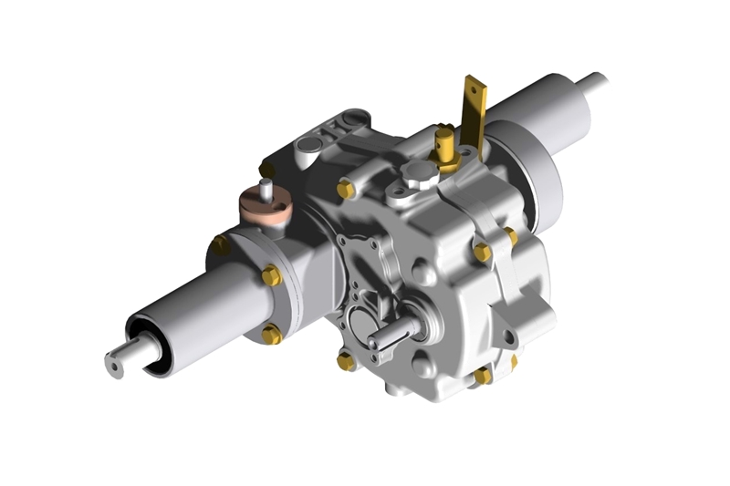 - Type : Differential Gear Type Transmission - Application : Pedestrian Agricultural Vehicles - Usag...
