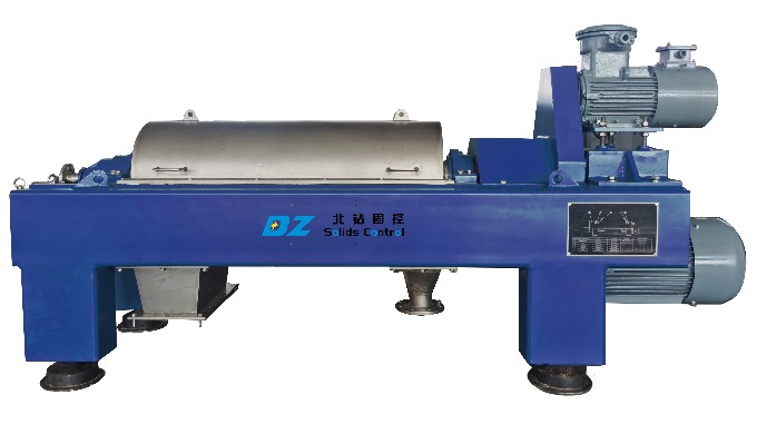 Decanter centrifuge is the 4th solids control equipment in oil and gas drilling solids control syste...