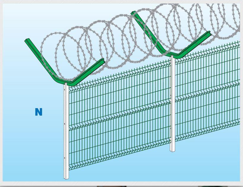 FERRO BULLONI, leader dans la conception et la fabrication de clôtures métalliques, vous présente de...