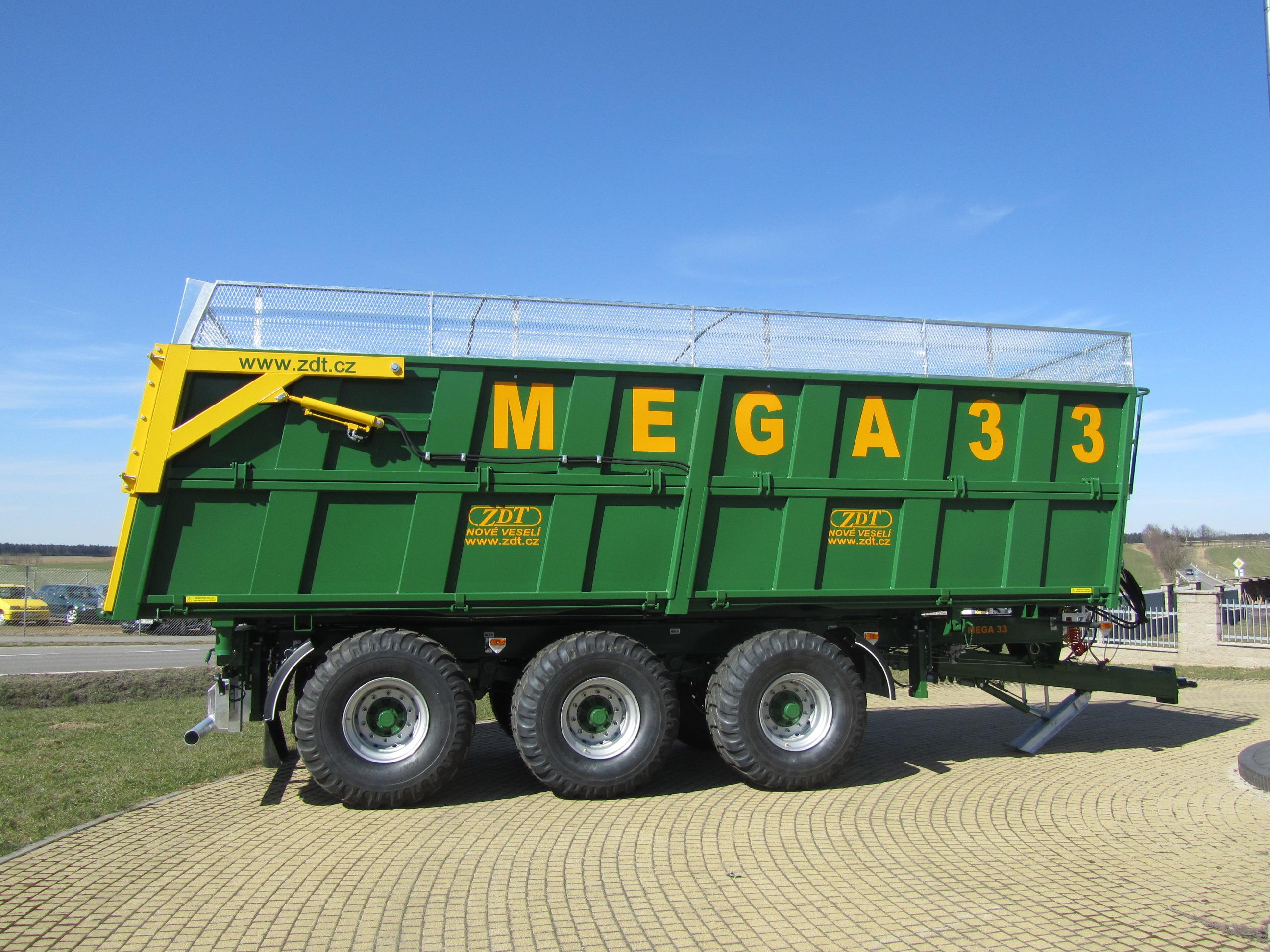Výměnné nástavby MEGA ze společnosti ZDT Nové Veselí s.r.o., tvoří stěžejní část výroby zemědělských...