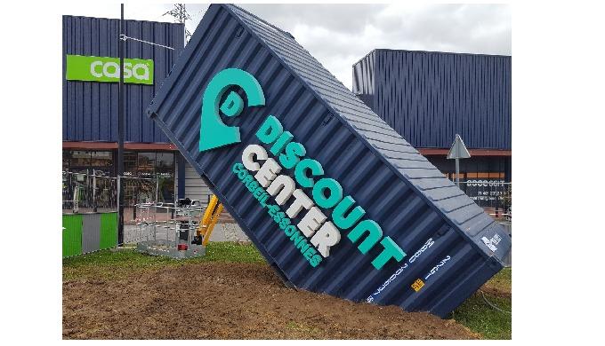 Exona devient Discount Center Corbeil-Essonnes