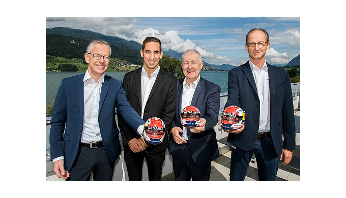 Swiss racer Sébastien Buemi is now a member of the maxon family