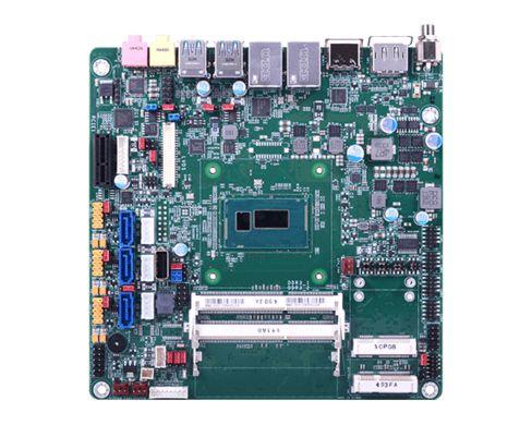 2 DDR3L SODIMM up to 16GB 1 HDMI, 1 DP, 1 LVDS/VGA/eDP Expansion: 1 PCIe x1, 2 Mini PCIe Rich I/O: 2...