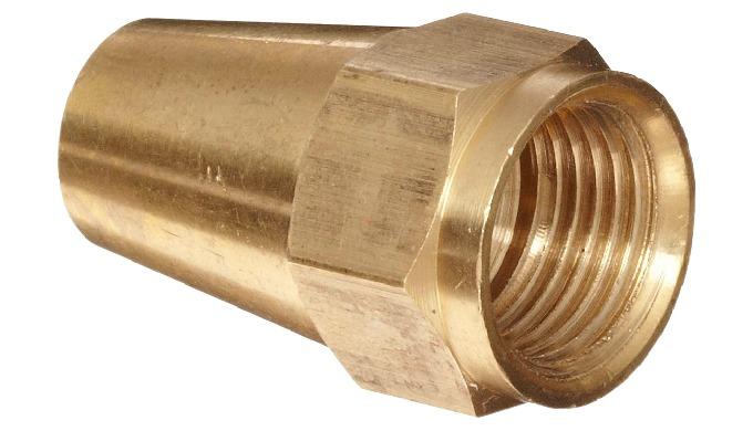 Brass Flare Nut Long