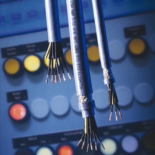 PUR-Steuerleitungen sind besonders geeignet für Steuergeräte, z.B. an Werkzeugmaschinen, Fließ- und ...